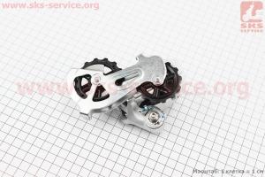 Перекидка цепи задняя 7/8зв., крепл. болт, серая ALTUS RD-M310-S для велосипеда