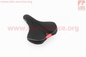 Сиденье на MTB, черное PLUSH VL-6336 для велосипеда