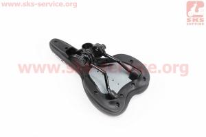 Сиденье на MTB, черно-красное AVY-6628 для велосипеда