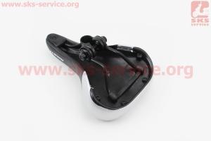Сиденье на MTB, черно-серое AVY-6753 для велосипеда