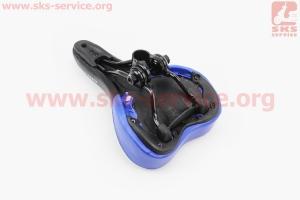 Сиденье на MTB, черно-синее ARDIS GS-589 для велосипеда
