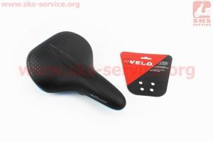 Сиденье на MTB, черно-синее PLUSH VL-6330 для велосипеда