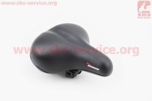 Сиденье, черное BSK-191 для велосипеда