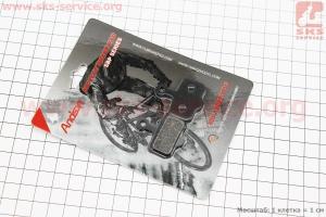 Тормозные колодки диск. тормоз к-кт (Sram XX, Avid Elixir 3,5, Elixir R, CR), YL-1002 для велосипеда