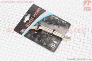 Лопатки бортировочные 3 шт к-кт, YC-313 для велосипеда