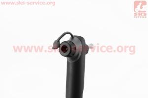 Насос MTB пластмассовый телескопический, черный SPM-106S для велосипеда