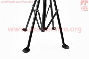 Стенд для ремонта велосипеда, складной, регулируемая высота 100-150 см, регулируемый угол наклона велосипеда HS-X006A для велосипеда