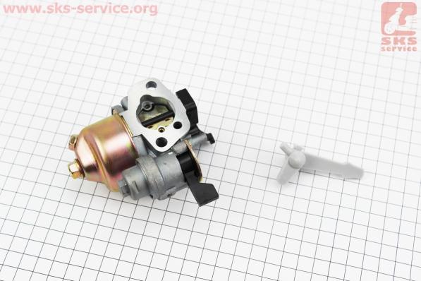 Карбюратор в сборе 168F/170F УЦЕНКА (отломан рычаг, см. фото) для мотоблока