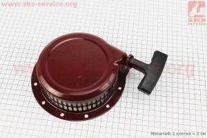 Стартер ручной в сборе 168F/170F Тип №3 для мотоблока