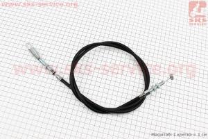 Трос сцепления (Вариант В) L=1320мм с пружиной для мотоблока