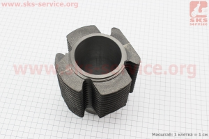 Цилиндр УЦЕНКА (выбито ребро охлаждения, см. фото) для мотоблока