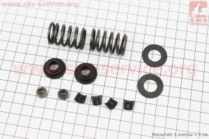 Клапанный механизм к-кт 12шт 178F для дизельного двигателя  F178/ F186 - 6/9 л.с.