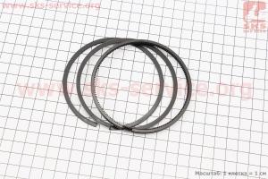 Кольца поршневые 186F 86мм +0,25 для дизельного двигателя  F178/ F186 - 6/9 л.с.