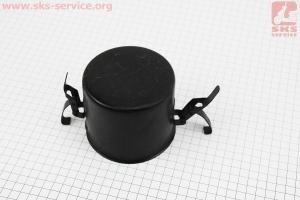Масляная ванна воздушного фильтра (метал) 186F УЦЕНКА (гнутая, см. фото) для дизельного двигателя  F178/ F186 - 6/9 л.с.