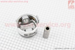 """Поршень, кольца, палец к-кт 178F 78мм +0,25 (форкамера в форме """"Конуса"""") для дизельного двигателя  F178/ F186 - 6/9 л.с."""