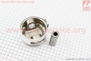"""Поршень, кольца, палец к-кт 178F 78мм +0,50 (форкамера в форме """"Конуса"""") для дизельного двигателя  F178/ F186 - 6/9 л.с."""