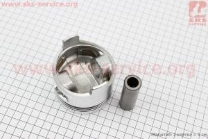 """Поршень, кольца, палец к-кт 178F 78мм STD (форкамера в форме """"Усечённого конуса"""") для дизельного двигателя  F178/ F186 - 6/9 л.с."""
