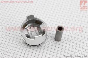 """Поршень, кольца, палец к-кт 178F 78мм +0,25 (форкамера в форме """"Усечённого конуса"""") для дизельного двигателя  F178/ F186 - 6/9 л.с."""