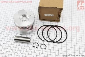 Поршень, кольца, палец к-кт 178F 78мм +0,25 (форкамера в форме Усечённого конуса) для дизельного двигателя  F178/ F186 - 6/9 л.с.