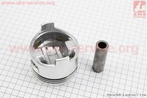 """Поршень, кольца, палец к-кт 178F 78мм +0,50 (форкамера в форме """"Усечённого конуса"""") для дизельного двигателя  F178/ F186 - 6/9 л.с."""