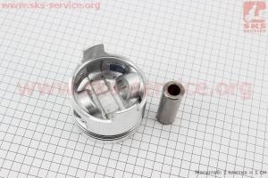 """Поршень, кольца, палец к-кт 186F 86мм STD (форкамера в форме """"Конуса"""") для дизельного двигателя  F178/ F186 - 6/9 л.с."""