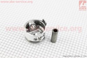 """Поршень, кольца, палец к-кт 186F 86мм +0,25 (форкамера в форме """"Конуса"""") для дизельного двигателя  F178/ F186 - 6/9 л.с."""