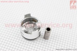 """Поршень, кольца, палец к-кт 186F 86мм STD (форкамера в форме """"Усечённого конуса"""") для дизельного двигателя  F178/ F186 - 6/9 л.с."""