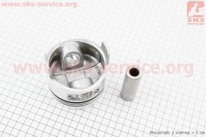 """Поршень, кольца, палец к-кт 186F 86мм +0,25 (форкамера в форме """"Усечённого конуса"""") для дизельного двигателя  F178/ F186 - 6/9 л.с."""