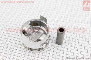 """Поршень, кольца, палец к-кт 186F 86мм +0,50 (форкамера в форме """"Усечённого конуса"""") для дизельного двигателя  F178/ F186 - 6/9 л.с."""