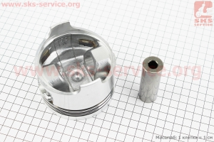 """Поршень, кольца, палец к-кт 192F 92мм STD (форкамера в форме """"Усечённого конуса"""") для дизельного двигателя  F178/ F186 - 6/9 л.с."""
