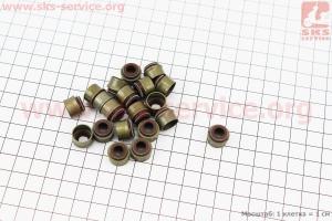 Сальник клапана 186F к-кт 20шт для дизельного двигателя  F178/ F186 - 6/9 л.с.