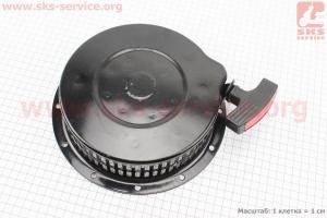 Стартер ручной в сборе 186F для дизельного двигателя  F178/ F186 - 6/9 л.с.
