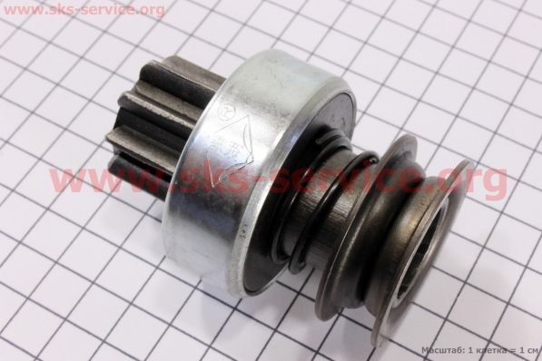 Бендикс электростартера Z=9, Lзуба=17мм R175A/R180NM для мотоблока