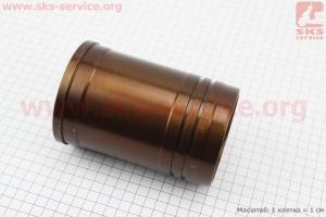 Гильза цилиндра R180NM, желтая, с насечкой для мотоблока