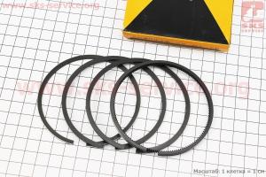 Кольца поршневые 80мм +0,25 для мотоблока