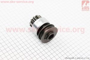 Бендикс электростартера Z=11, Lзуба=17мм R190N/195NM на двигатель дизельный R190N(NM)/R195N(NM)
