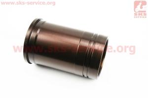 Гильза цилиндра R185N (H=160mm, ?венца=105,7mm, ?верх.пояс=98,00mm, ?ниж.пояс=98,00mm), желтая, с насечкой на двигатель дизельный R190N(NM)/R195N(NM)