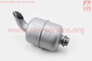 Глушитель R195NM (без колена) на двигатель дизельный R190N(NM)/R195N(NM)