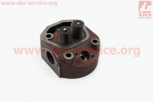 Головка цилиндра R190N в сборе  на двигатель дизельный R190N(NM)/R195N(NM)