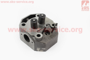 Головка цилиндра R195NM в сборе на двигатель дизельный R190N(NM)/R195N(NM)