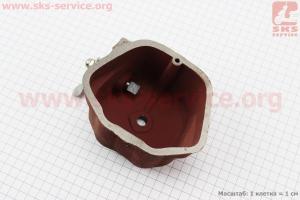 Крышка головки цилиндра (клапанов), чугунная R190N Тип №1 на двигатель дизельный R190N(NM)/R195N(NM)