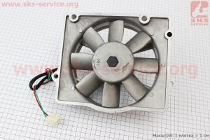 Вентилятор в сборе ZS1100 на двигатель  дизельный ZS1100 - 15л/с