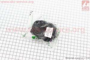 Кольцо (манжет) уплотнительное гильзы 100мм, чёрное ZS1100, к-кт 10шт на двигатель  дизельный ZS1100 - 15л/с