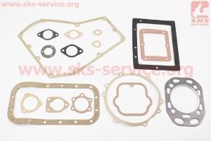 Прокладки двигателя, к-кт 15шт ZS1100 на двигатель  дизельный ZS1100 - 15л/с