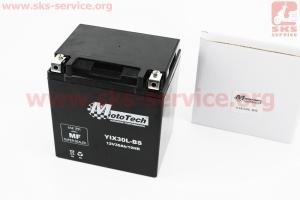 Аккумулятор 30Аh YIX30L-BS гелевый (L165*W125*H175 mm), 2018 к мотоблокам