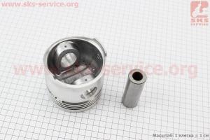 Поршень, кольца, палец к-кт 95мм STD (с форкамерой) для мототрактора