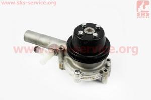 Насос водяной КМ385ВТ (LL480-06100) на дизельный двигатель KM385BT