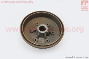 Тормозной барабан Xingtai 24B, Shifeng 244,Taishan 24 (12.38.108) на минитрактор Xingtai 24B (ременной)
