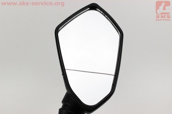 Зеркала к-кт на мотоцикл призма черный, м8, УЦЕНКА (трещина)