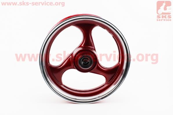 D17 Диск литой передний MT3,5x13 VIPER - F1 (ось 12мм) Красный